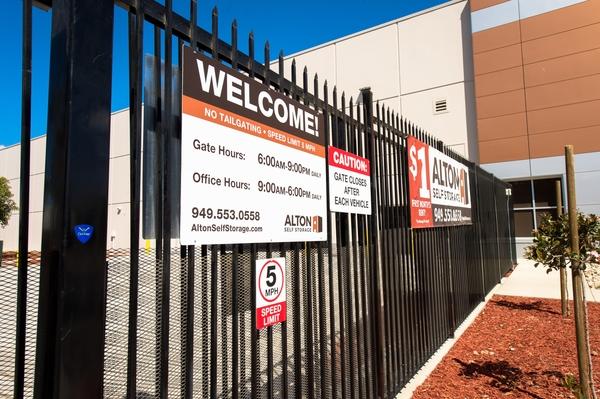 Rent Reserve Storage Unit Alton Self Storage In Irvine